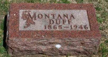 DUFF, SARAH J.