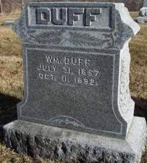 DUFF, WILLIAM - Madison County, Iowa | WILLIAM DUFF