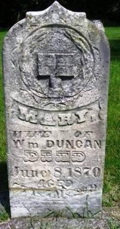 DUNCAN, MARY - Madison County, Iowa   MARY DUNCAN