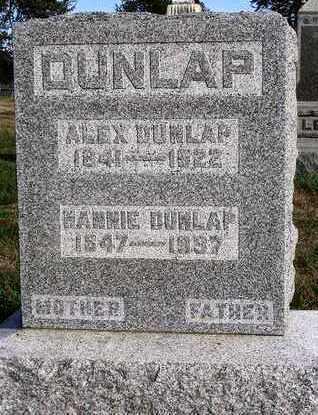 DUNLAP, ALEXANDER