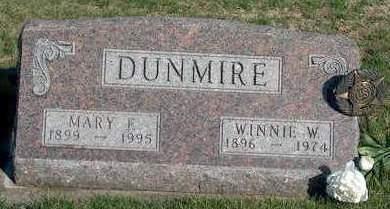 DUNMIRE, MARY FRANCES - Madison County, Iowa | MARY FRANCES DUNMIRE