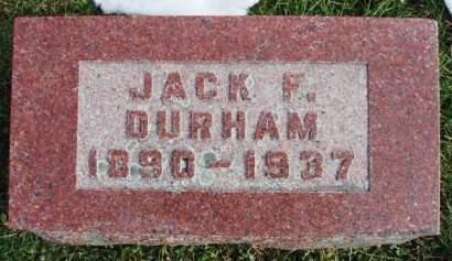 DURHAM, JOHN F. - Madison County, Iowa | JOHN F. DURHAM