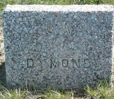 DYMOND, C. W. - Madison County, Iowa   C. W. DYMOND