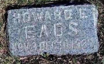 EADS, HOWARD E. - Madison County, Iowa | HOWARD E. EADS