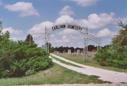 EARLHAM, CEMETERY - Madison County, Iowa | CEMETERY EARLHAM