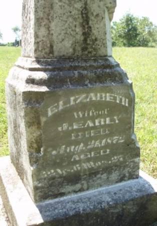EARLY, ELIZABETH - Madison County, Iowa | ELIZABETH EARLY