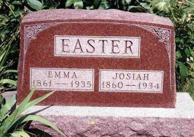 EASTER, EMMA - Madison County, Iowa   EMMA EASTER