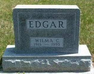 EDGAR, WILMA CLARKE - Madison County, Iowa | WILMA CLARKE EDGAR