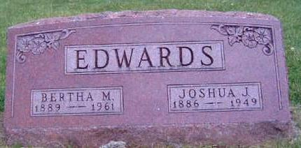 EDWARDS, BERTHA MAGGIE - Madison County, Iowa | BERTHA MAGGIE EDWARDS