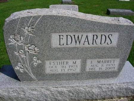 EDWARDS, ESTHER MAXINE - Madison County, Iowa   ESTHER MAXINE EDWARDS