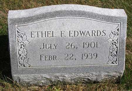 EDWARDS, ETHEL F. - Madison County, Iowa | ETHEL F. EDWARDS