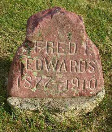 EDWARDS, FRED I. - Madison County, Iowa   FRED I. EDWARDS