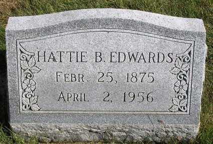 EDWARDS, HATTIE B. - Madison County, Iowa | HATTIE B. EDWARDS