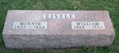 EISELE, WILLIAM J. - Madison County, Iowa | WILLIAM J. EISELE