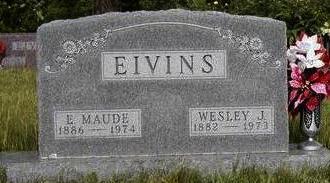 EIVINS, EDITH MAUDE - Madison County, Iowa | EDITH MAUDE EIVINS