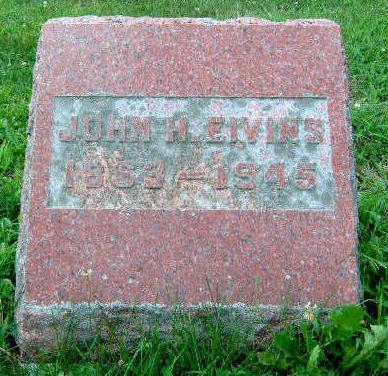 EIVINS, JOHN HENRY - Madison County, Iowa | JOHN HENRY EIVINS