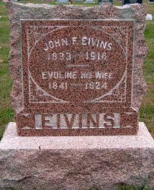 EIVINS, JOHN FREDERICK - Madison County, Iowa | JOHN FREDERICK EIVINS