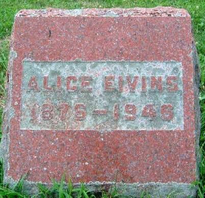 EIVINS, MARTHA ALICE - Madison County, Iowa | MARTHA ALICE EIVINS