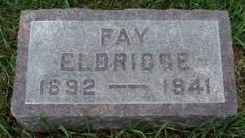 ELDRIDGE, FAY - Madison County, Iowa   FAY ELDRIDGE