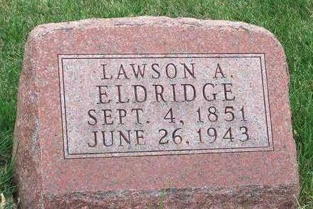 ELDRIDGE, LAWSON ASBURY - Madison County, Iowa | LAWSON ASBURY ELDRIDGE