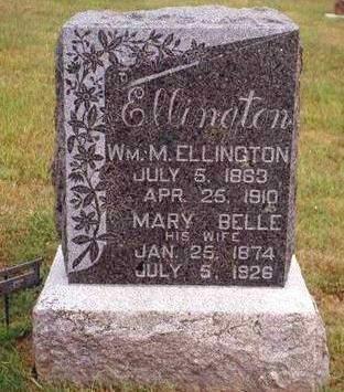ELLINGTON, WILLIAM MINIER - Madison County, Iowa | WILLIAM MINIER ELLINGTON