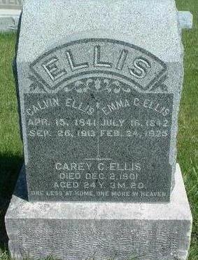 ELLIS, CAREY C. - Madison County, Iowa | CAREY C. ELLIS