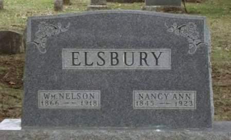 ELSBURY, WILLIAM NELSON - Madison County, Iowa | WILLIAM NELSON ELSBURY