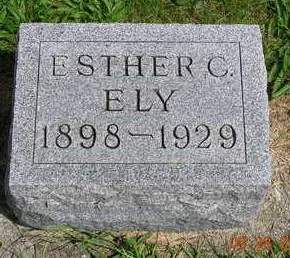 ELY, ESTHER CHARLOTTE - Madison County, Iowa | ESTHER CHARLOTTE ELY