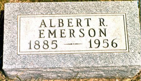 EMERSON, ALBERT R. - Madison County, Iowa | ALBERT R. EMERSON