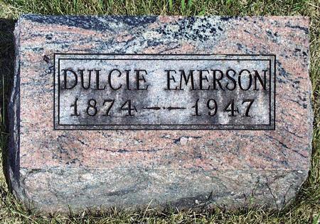 EMERSON, DULCIE ISABELL - Madison County, Iowa | DULCIE ISABELL EMERSON