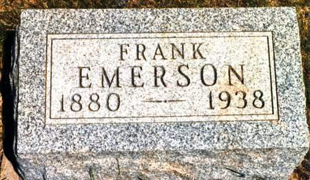 EMERSON, FRANK - Madison County, Iowa | FRANK EMERSON