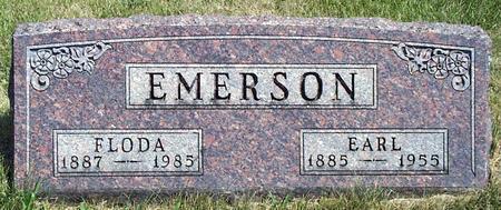 EMERSON, FLODA PEARL - Madison County, Iowa | FLODA PEARL EMERSON