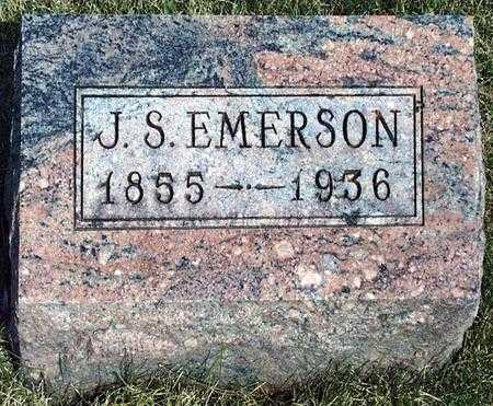 EMERSON, JOSEPH SYLVESTER - Madison County, Iowa | JOSEPH SYLVESTER EMERSON