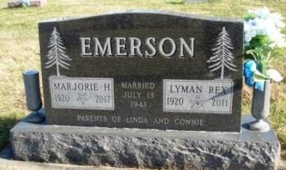 EMERSON, MARJORIE MAY - Madison County, Iowa   MARJORIE MAY EMERSON