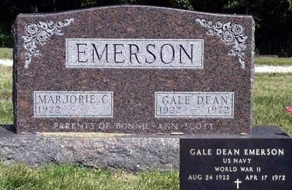 EMERSON, MARJORIE CAROLINE - Madison County, Iowa | MARJORIE CAROLINE EMERSON
