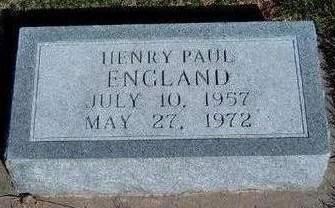 ENGLAND, HENRY PAUL - Madison County, Iowa | HENRY PAUL ENGLAND