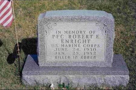 ENRIGHT, ROBERT EUGENE - Madison County, Iowa | ROBERT EUGENE ENRIGHT