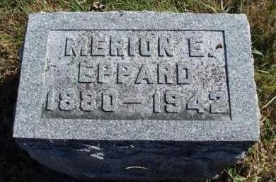 EPPARD, MERION ELMER - Madison County, Iowa   MERION ELMER EPPARD
