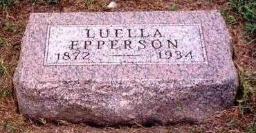 EPPERSON, LUELLA - Madison County, Iowa | LUELLA EPPERSON
