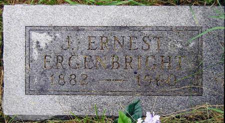ERGENBRIGHT, JAMES ERNEST - Madison County, Iowa   JAMES ERNEST ERGENBRIGHT