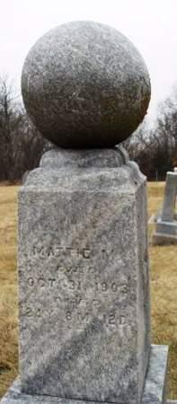 ERGENBRIGHT, MATTIE M. - Madison County, Iowa | MATTIE M. ERGENBRIGHT