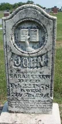 ESKEW, JOHN - Madison County, Iowa | JOHN ESKEW