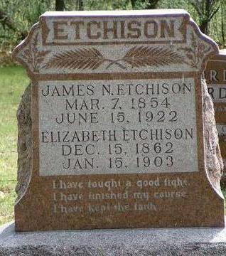 ETCHISON, JAMES NATHANIEL - Madison County, Iowa | JAMES NATHANIEL ETCHISON