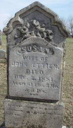 ETTIEN, SUSAN - Madison County, Iowa | SUSAN ETTIEN