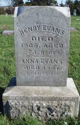 EVANS, ANNA - Madison County, Iowa | ANNA EVANS