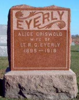 GRISWOLD EYERLY, ALICE MARIE - Madison County, Iowa | ALICE MARIE GRISWOLD EYERLY