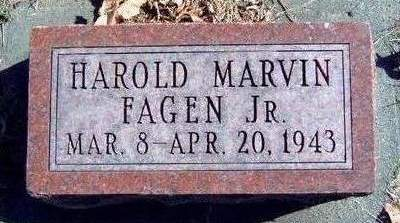 FAGEN, HAROLD MARVIN, JR. - Madison County, Iowa | HAROLD MARVIN, JR. FAGEN