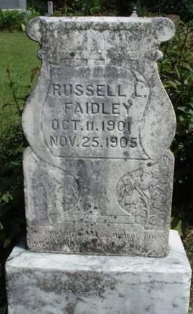 FAIDLEY, RUSSELL - Madison County, Iowa | RUSSELL FAIDLEY