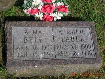 FABER, A. MARIE, DR. - Madison County, Iowa | A. MARIE, DR. FABER