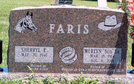 FARIS, SHERRYL E. - Madison County, Iowa | SHERRYL E. FARIS